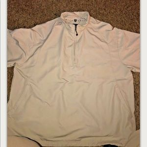Nike Golf 3/4 Zip Vented Short Sleeve Pullover